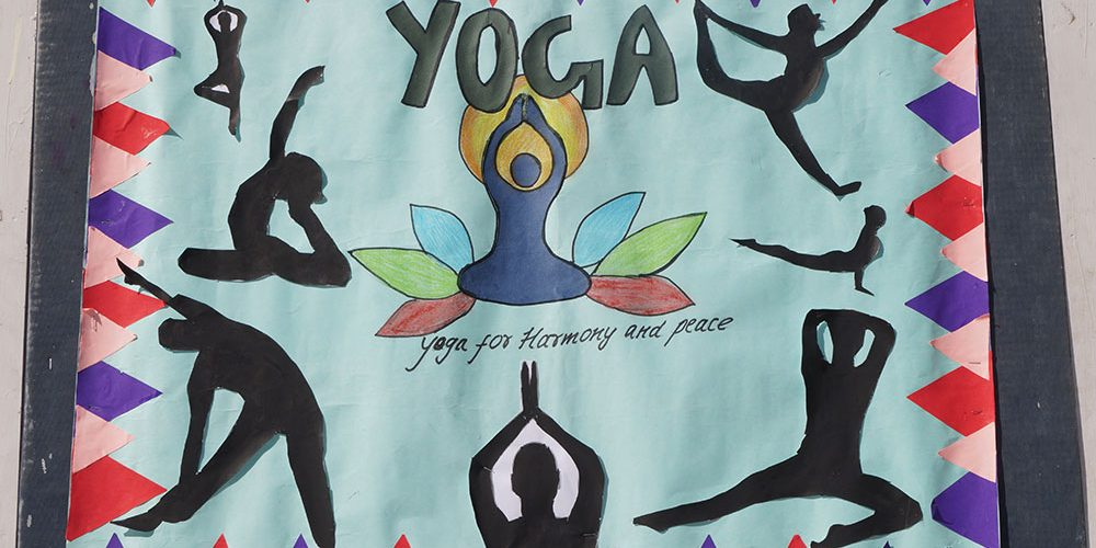 Yoga Assembly - Grade IX B