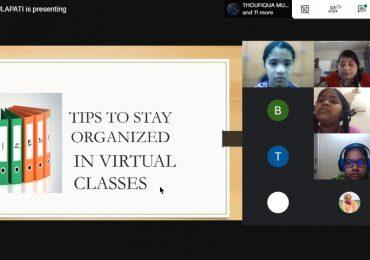 Tips to be organized in Virtual class-7 E