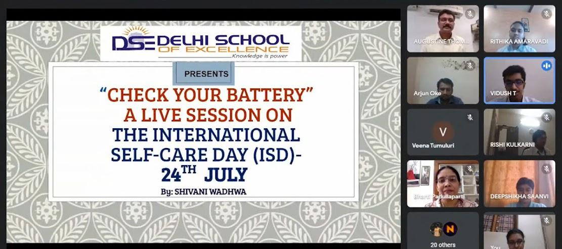 Check Your Battery-Counsellor's Session